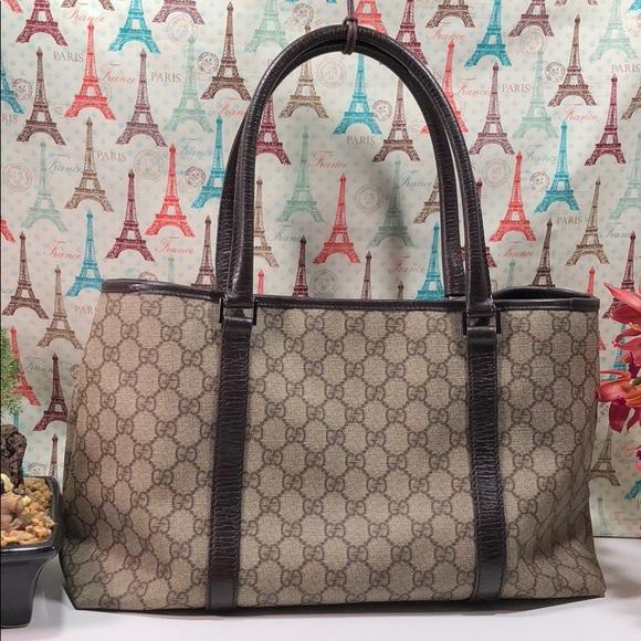 96844a45bf8 Gucci Handbags - Authentic Gucci GG Monogram Satchel Bag